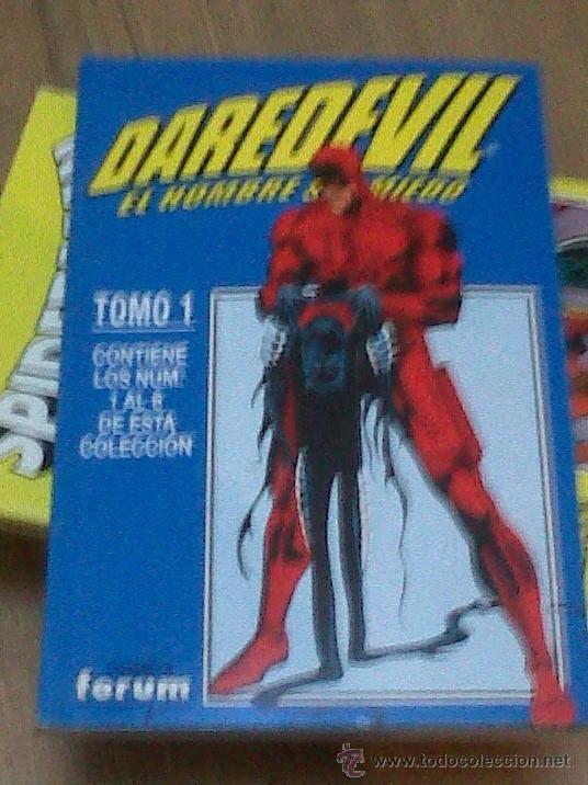 DAREDEVIL TOMO 1 AL 4 FORUM COMPLETA COMO NUEVO - 344 VOL1 A 365 VOL1 USA - FORUM VOL2 BIS (Tebeos y Comics - Forum - Daredevil)