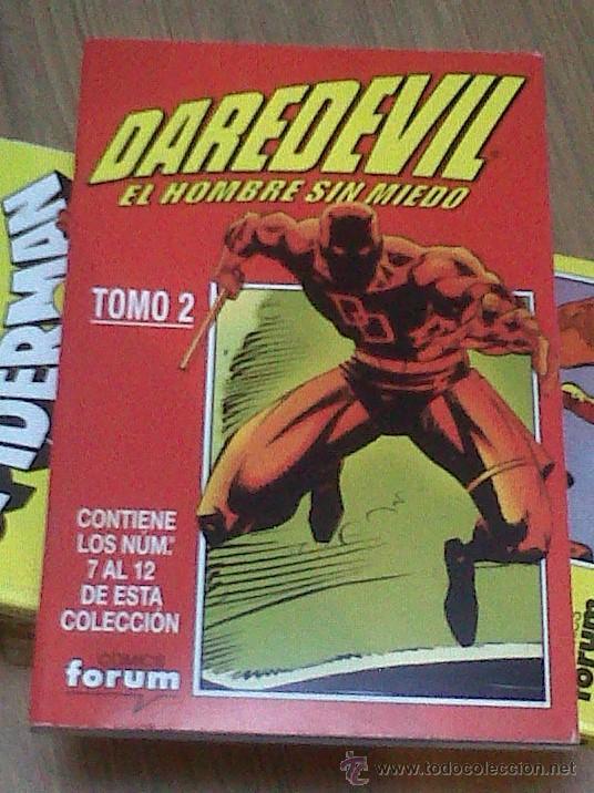 Cómics: DAREDEVIL TOMO 1 AL 4 FORUM COMPLETA COMO NUEVO - 344 vol1 a 365 vol1 USA - FORUM vol2 BIS - Foto 2 - 37890681