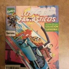 Cómics: LOS 4 FANTÁSTICOS VOLUMEN 1 DE FORUM Nº 101 , 102 , 103 , 104 Y 105 EN UN RETAPADO. Lote 37920058