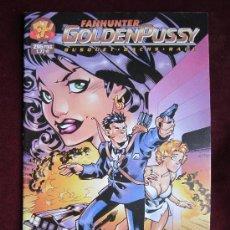 Comics - Fanhunter GoldenPussy. Número Único. Forum. Cels Piñol, Busquets, Bachs, Raúl. Nuevo - 37953104