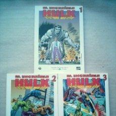 Comics : INCREIBLE HULK 3 TOMOS COMPLETA 576 PAGINAS EL MUNDO FORUM 2003. Lote 37970253