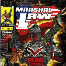 Cómics: MARSHAL LAW. EPIC COMICS. MINISERIE DE 6 COMPLETA + 2 PRESTIGIOS. LOTE PRO. Lote 38008672