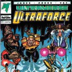 Cómics: ULTRAVERSE. 3 SERIES COMPLETAS, ULTRAFORCE, NIGHT MAN, FIRE ARM+ESPECIAL+PRE. ULTRAFORCE VENGADORES. Lote 51087162