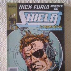NICK FURIA AGENTE DE SHIELD numeros 6, 7, 8, 9, 10 de Bob Harras, Keith Pollard