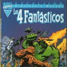 Cómics: 4 FANTASTICOS. BIBLIOTECA MARVEL NMS 1 AL 15. COMO NUEVOS. Lote 38061826