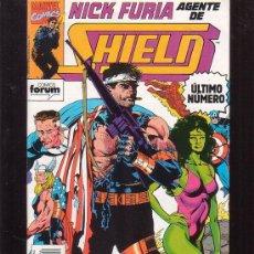 Cómics: NICK FURIA AGENTE DE SHIELD ( NUEVA ETAPA ) Nº 6 ULTIMO NÚMERO. Lote 241785420