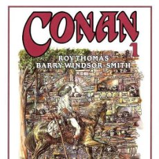 Cómics: CONAN LOTE PACK COLECCIÓN COMPLETA 8 TOMOS VOL.1 DE ROY THOMAS & BARRY WINDSOR - SMITH FORUM. Lote 38104313