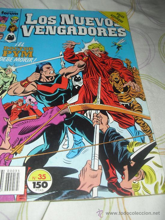 LOS NUEVOS VENGADORES VOL I Nº 35 FORUM (Tebeos y Comics - Forum - Vengadores)