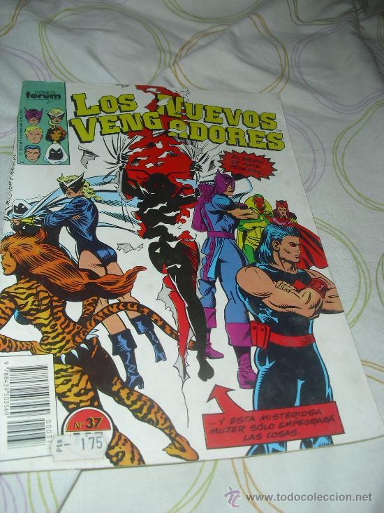 LOS NUEVOS VENGADORES VOL I Nº 37 FORUM (Tebeos y Comics - Forum - Vengadores)