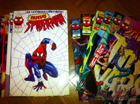 NUEVO SPIDERMAN - COLECCIÓN COMPLETA (Tebeos y Comics - Forum - Spiderman)