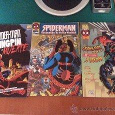 Cómics: LOTE DE 3 COMICS DE SPIDERMAN - DIFICILES DE CONSEGUIR - FORUM - COMO NUEVOS. Lote 38310462