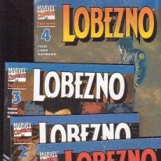 Cómics: LOBEZNO VOL. 3, SERIE 4 EJEMPLARES ( LOS ARCHIVOS DE LOGAN ). Lote 135906597