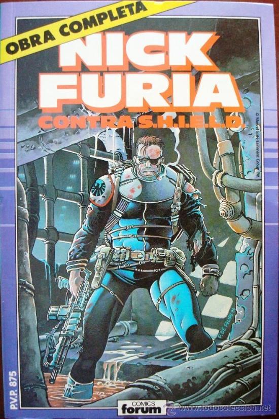 NICK FURIA CONTRA S.H.I.E.L.D., COMPLETA, 1989 (Tebeos y Comics - Forum - Furia)