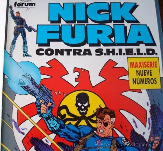 Cómics: Nick Furia contra S.H.I.E.L.D., completa, 1989 - Foto 2 - 38402367