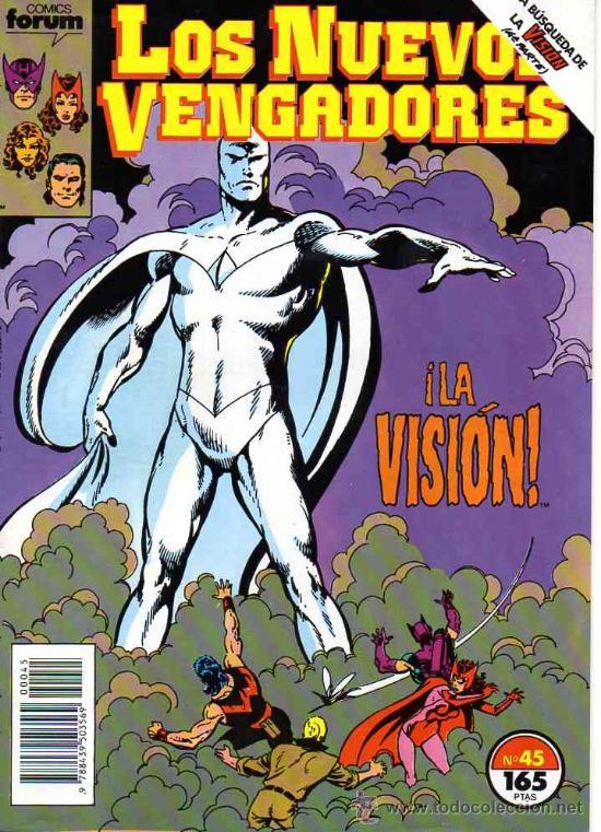 NUEVOS VENGADORES VOL.1 # 45 (FORUM,1990) - JOHN BYRNE - LOS DEFENSORES (Tebeos y Comics - Forum - Vengadores)