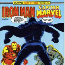Cómics: IRON MAN VOL.1 # 43 (FORUM,1989) - MARVEL TWO-IN-ONE- CAPITAN MARVEL. Lote 38415742