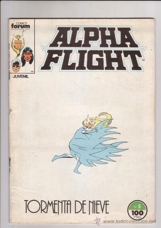 FORUM - ALPHA FLIGHT VOL.1 NUM. 5 (Tebeos y Comics - Forum - Alpha Flight)