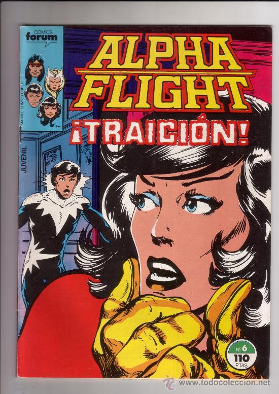 FORUM - ALPHA FLIGHT VOL.1 NUM. 6 (Tebeos y Comics - Forum - Alpha Flight)