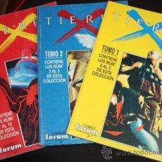 Cómics: TIERRA X. :DEL Nº1 AL Nº10 EN TRES TOMOS.. Lote 38526951