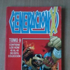 Comics : GENERACIÓN-X Nº 45 AL 49 - TOMO 9. Lote 38581676