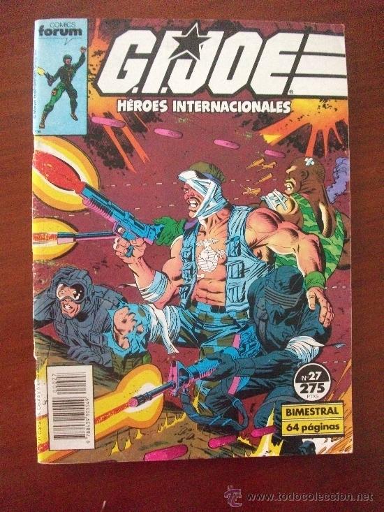 G.I.JOE HEROES INTERNACIONALES Nº 27 COMICS FORUM (Tebeos y Comics - Forum - Otros Forum)