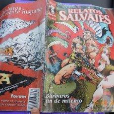 Cómics: COMIC FORUM: RELATOS SALVAJES BARBAROS FIN DE MILENIO MJ.E. Lote 38810112