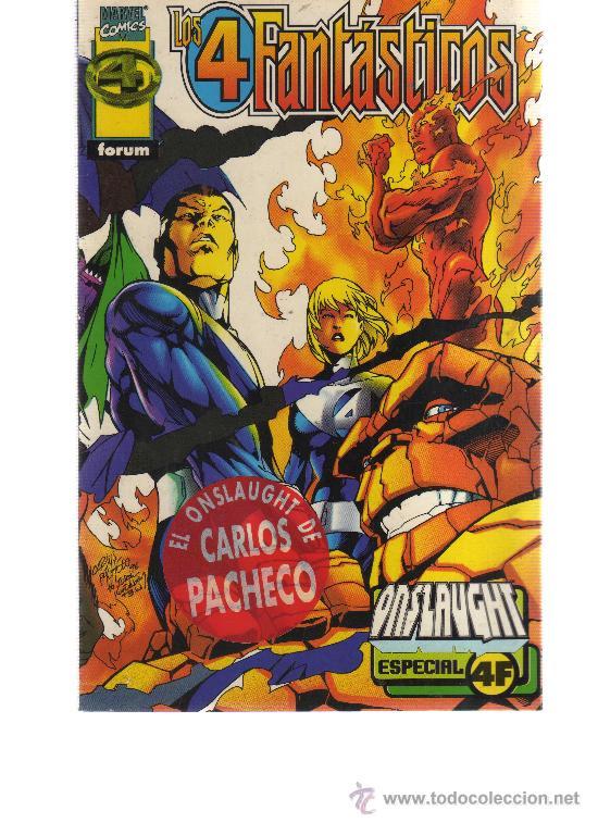 ONSLAUGHT 4 FANTASTICOS: ESPECIAL 4F: DEFALCO Y PACHECO (Tebeos y Comics - Forum - Prestiges y Tomos)
