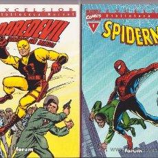 Cómics - spiderman nº1 y daredevil nº 1 biblioteca marvel forum - 59824020