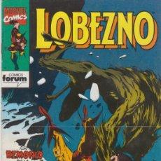 Cómics: COMIC LOBEZNO Nº 34 VOL.1 ED.FORUM 1992. Lote 38717083