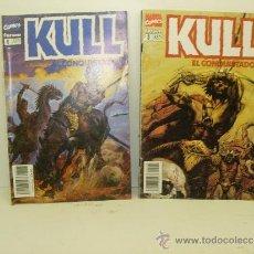 Cómics: LOTE 2 COMICS KULL EL CONQUISTADOR Nº 3 Y 8 FORUM. Lote 38753722