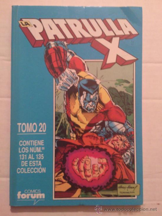 LA PATRULLA-X VOL. 1 / RETAPADO # 20 - INCLUYE Nº. 131 - 132 - 133 - 134 - 135 (FORUM) (Tebeos y Comics - Forum - Retapados)