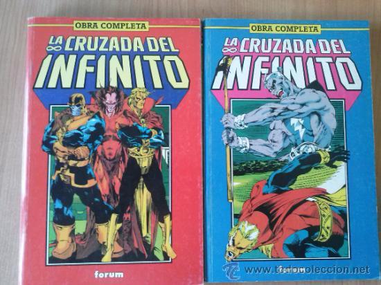 LA CRUZADA DEL INFINITO Nº 1 AL 11 - OBRA COMPLETA - TOMOS 1 Y 2 - FORUM (Tebeos y Comics - Forum - Retapados)