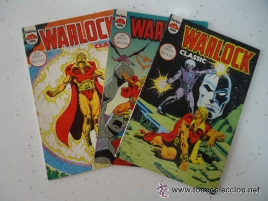 WARLOCK CLASSIC ( DE JIM STARLIN) ; TOMOS Nº3 + Nº4 (Tebeos y Comics - Forum - Prestiges y Tomos)
