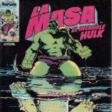 Cómics: LA MASA VOL.1 # 34 (FORUM,1985) - HULK - SAL BUSCEMA - HULKA. Lote 38828924