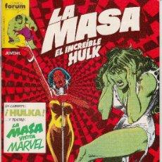 Cómics: LA MASA VOL.1 # 28 (FORUM,1984) - HULK - SAL BUSCEMA - HULKA. Lote 38829000