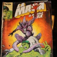 Cómics: LA MASA 49 VOLUMEN 1 FORUM. Lote 38837841