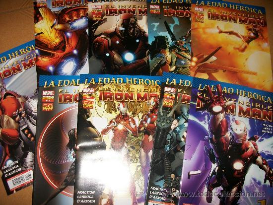 EL INVENCIBLE IRON MAN - LA EDAD HEROICA - NUMEROS 1 AL 9 (Tebeos y Comics - Forum - Iron Man)