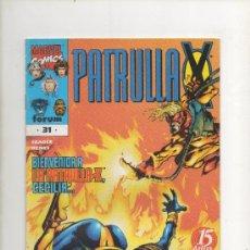 Cómics: PATRULLA-X VOL 2 Nº 31- FORUM. Lote 39576573