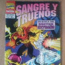 Cómics: SANGRE Y TRUENOS Nº 3 DE 7. Lote 38892777