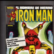 Cómics: FORUM - IRON MAN VOL.1 RETAPADO 31 AL 35 . Lote 38900287