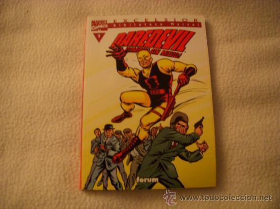 EXCELSIOR BIBLIOTECA DAREDEVIL Nº 1, EDITORIAL FORUM (Tebeos y Comics - Forum - Daredevil)