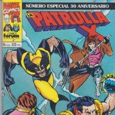 Cómics: COMIC MARVEL - PATRULLA-X -ESPECIAL 30 ANIVERSARIO 96 PGS. ED.FORUM 1993. Lote 38938803
