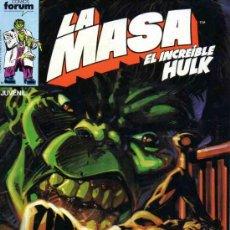 Cómics: LA MASA VOL.1 # 31 (FORUM,1985) - HULK - SHE-HULK. Lote 38941289