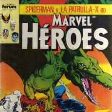 Fumetti: MARVEL HEROES SPIDERMAN PATRULLA-X KAZAR - FORUM COMPLETA. Lote 38942530
