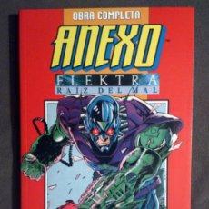 Cómics: ANEXO / ELEKTRA : RAIZ DEL MAL (FORUM) RETAPADO CON 2 SERIES LIMITADAS COMPLETAS - 1995. Lote 38948749