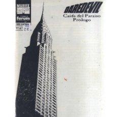 Cómics: DAREDEVIL CAIDA DEL PARAISO COMPLETA 7 Nº. Lote 38980084