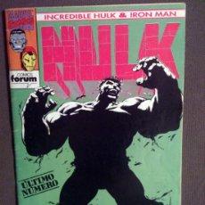 Cómics: HULK & IRON MAN VOL. 1 # 9 ( FORUM) - 1993. Lote 39013469