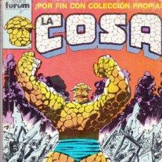 Cómics: LA COSA (RETAPADOS 1 AL 5 Y 11 AL 14). Lote 39040793