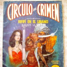 Cómics: RIFIFI EN EL LIBANO Nº 48. CIRCULO DEL CRIMEN. FORUM 1983.. Lote 39053813