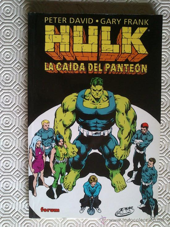 HULK: LA CAIDA DEL PANTEON DE PETER DAVID, GARY FRANK (Tebeos y Comics - Forum - Hulk)